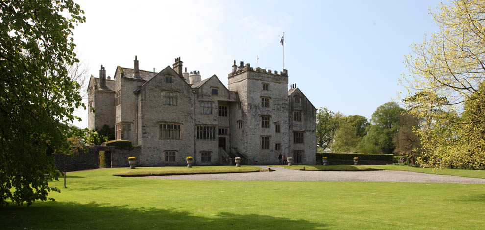 Lake district Levens Hall